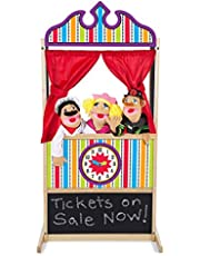 [US Deal] Save on Melissa & Doug Deluxe Puppet Theater - Sturdy Wooden Construction. Discount applied in price displayed.