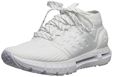 new product 56739 1091a Under Armour Men s HOVR Phantom Connected Running Shoe, White (102) Steel,