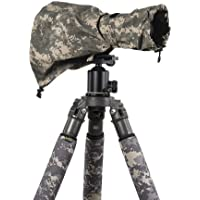 LensCoat RainCoat RS for Camera and Lens, Medium (Digital Camo )camera lens rain sleeve cover camouflage protection LCRSMDC