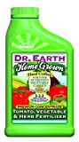 liquid fertilizer for tomatoes - Dr. Earth Home Grown Tomato, Vegetable & Herb Liquid Fertilizer 24 oz Concentrate