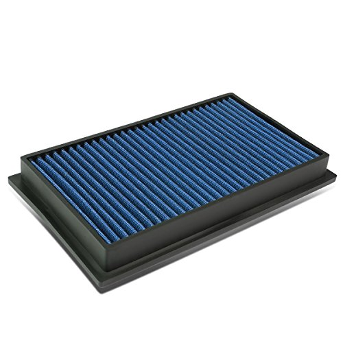 For Scion/Infiniti/Nissan SUV/Sedan/Coupe Reusable & Washable Replacement High Flow Drop-in Air Filter (Blue)