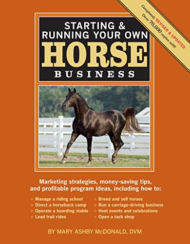 Starting & Running Your Own Horse Business, 2nd Edition: Marketing strategies, money-saving tips, and profitable program ideas - Equestrian Running Horses