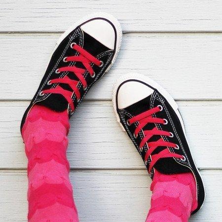 4f6da1723321 PiLaceez Kids No Tie Shoelaces - Pink (Large  Kids Shoe 1 to - Import It All