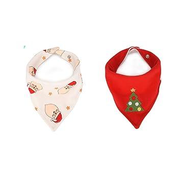 baby bandana bib Christmas