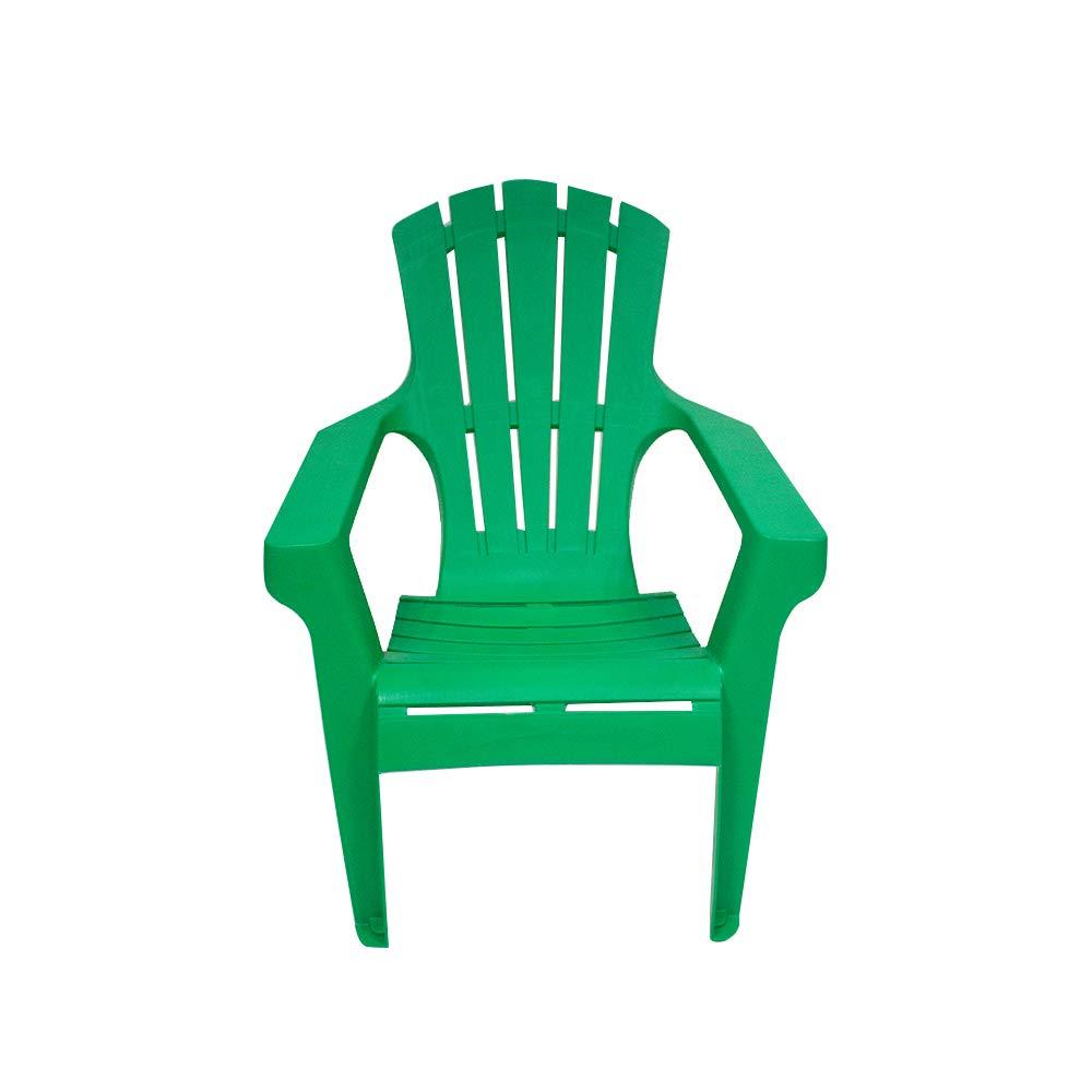 Silla Adi para Playa de Plástico Apilable Verde