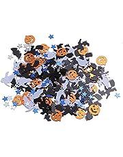 Happyyami 2 Pack Halloween Table Confetti Pumpkin Bat Witch Confetti Decorations Halloween Party Favor