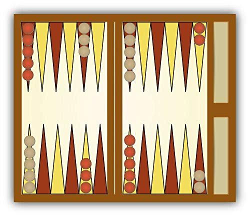 Magnet Backgammon Table Vinyl Magnet Bumper Sticker Magnet Flexible Vinyl Magnetic 5
