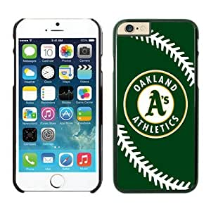Apple iphone 6 4.7 Phone Case,Oakland Athletics TPU iphone 6 4.7 case Protective Skin Case 1 Black