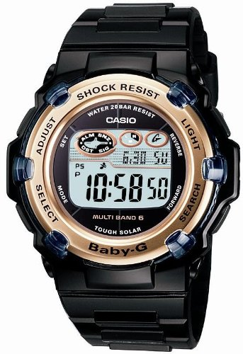 Casio Baby-G Tough Solar Radio-Controlled Watch Multiband 6 BGR-3003-1JF Women's Watch Japan import