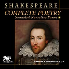 Complete Poetry: Sonnets and Narrative Poems Audiobook by William Shakespeare Narrated by Charlton Griffin