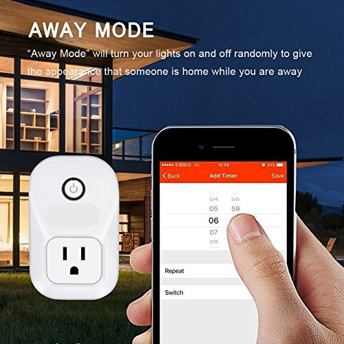 Alexa Smart Plug Wi-Fi Kaito No Hub Required Wireless Timing Smart Socket Remote Control your Devices for Smart Home Compatible with Alexa Echo Dot, Echo Tape and Amazon Echo, KA402 by Kaito (Image #4)