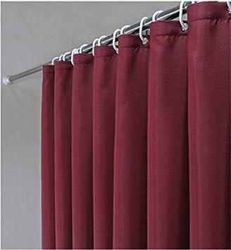 Vinyl Magnetic Shower Curtain Liner W Metal Grommets