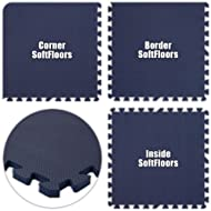 Best Floor SoftFloors Navy Blue Total