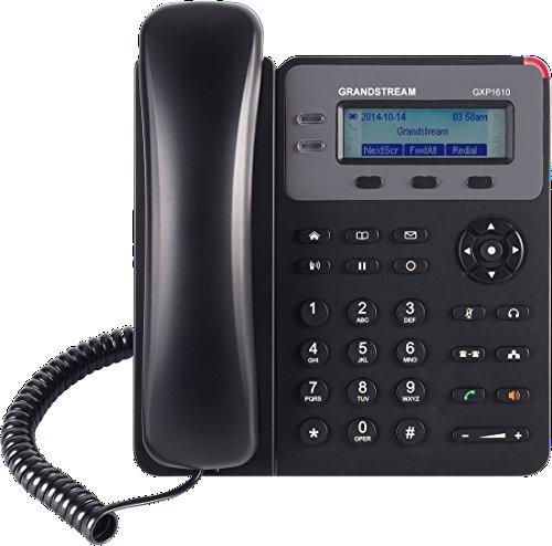 Grandstream GXP1610 VoIP IP LCD Phone 2 Line 1 SIP HD Voice 10/100 LAN WAN