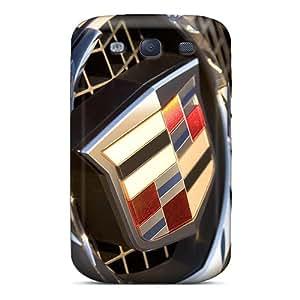Bumper Hard Phone Covers For Samsung Galaxy S3 (fnx14833meOF) Custom Lifelike Cadillac Logo Image