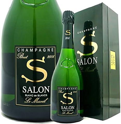 """シャンパン サロン JAL、ファーストクラス""""幻のシャンパン""""販売 サロン7本セット、08年入り"""