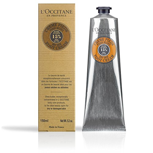 L'Occitane 15% Shea Butter Foot Cream Enriched with Lavender & Arnica, 5.2 oz. by L'Occitane (Image #1)