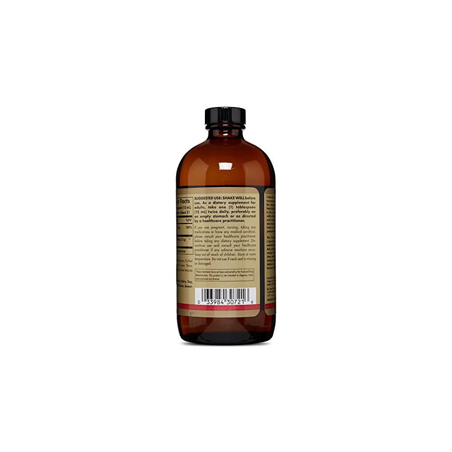 Solgar L Carnitine 1500 mg Liquid 16 oz