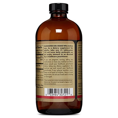 Solgar L Carnitine 1500 mg Liquid 16 oz