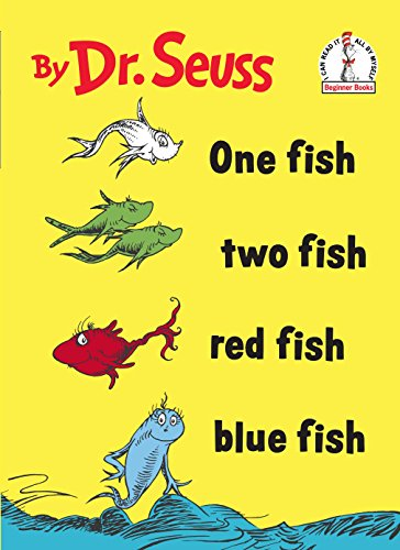 Dr Seuss Red Hat - One Fish Two Fish Red Fish Blue Fish (I Can Read It All by Myself)