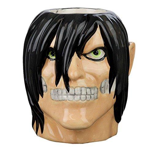 - Attack On Titan - Eren Yeager Molded Mug