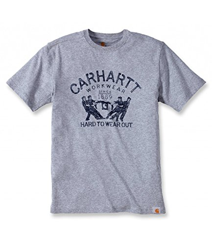 T To Maddock Hard Out Wear Gris Graphic shirt Carhartt RwBqWfx676