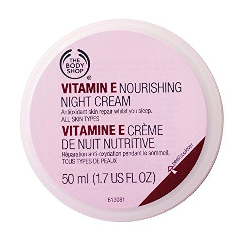 Le E nourrissante Crème de Nuit Body Shop vitamine, 1,67 onces