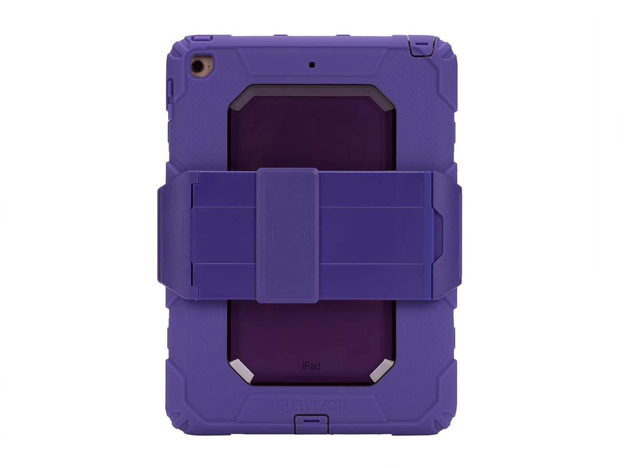 新品即決 Griffin iPad 2018 9.7 GB43626 ( 2017 & 2018 ( ) Rugged Case、Survivor all-terrain withスタンド パープル GB43626 パープル B079DQ658Z, やさしい靴工房 Belle and Sofa:b59ab8e9 --- a0267596.xsph.ru