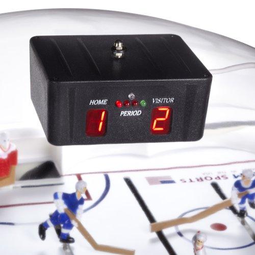 Carrom 435.01 Signature Stick Hockey Table with Pedestal (Blue)