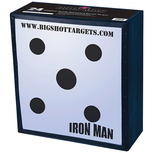 BigShot Iron Man Speed Bow Target, 24x24x9-Inch