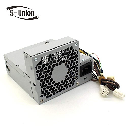 S-Union New 240W Power Supply for HP Elite 8000 8100 8200 SFF Pro 6000 6005 6200 Compatible Part Number CFH0240EWWB 611482-001 508151-001 613763-001 611481-001 613762-001 - Supply Compaq Hp Power