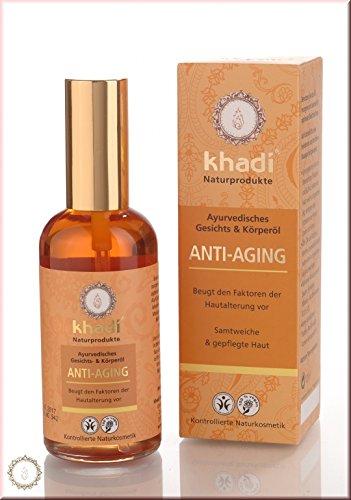 Khadi Anti Aging Gesichtsöl und Körperöl