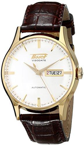 Tissot Men's TIST0194303603101 Visodate Gold-Tone Stainle...