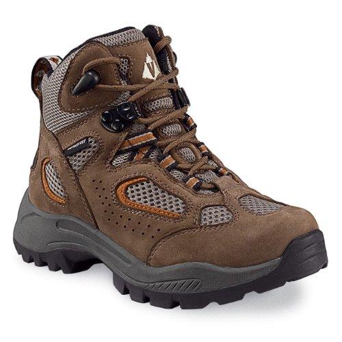 Vasque Boy's Breeze Waterproof Hiking Boots,Brown,1 M Little Kid