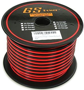 Amazon gs powers true 16 gauge american wire ga 100 feet gs powers true 16 gauge american wire ga 100 feet 999 ofc stranded keyboard keysfo Gallery