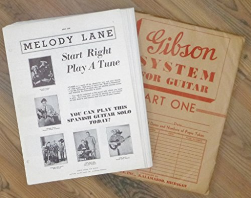 """Gibson System for Guitar, Part One """"Melody Lane"""" Start for sale  Delivered anywhere in USA"""