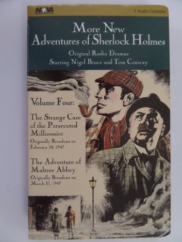 More. . . Sherlock Holmes: Vol. 4 (Sherlock Holmes Series) by Brand: Nova Audio Books