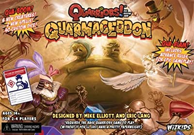 Wizkids Quarriors Dice-building Game Expansion Quarmageddon from WizKids