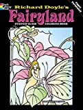 img - for Fairyland Stained Glass Coloring Book (Dover Stained Glass Coloring Book) book / textbook / text book