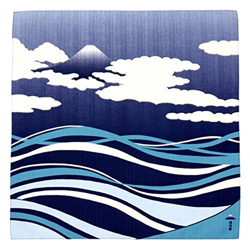 FUROSHIKI- Japanese Traditional Cloth (Mt.Fuji & Stream)