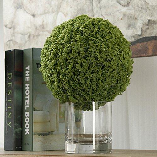 JAROWN Artificial Moss Green Grass Ball Fake Plants for Hanging Garland Home Garden Yard Decor (22cm) by JAROWN (Image #2)