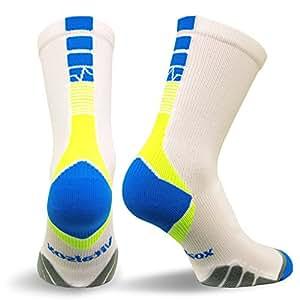Vitalsox Bacteria Stopper & Odor Control Socks, Small, White VT3810