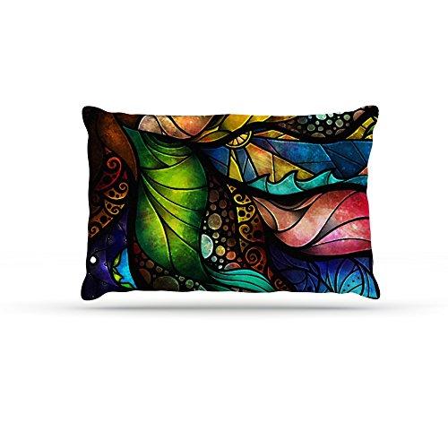 Kess InHouse Mandie Manzano Sleep and Awake  Fleece Dog Bed, 50 by 60 , Multicolor