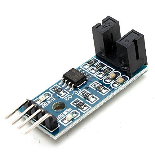 BephaMart Speed Measuring Sensor Counter Motor Test Groove Coupler Module for Arduino