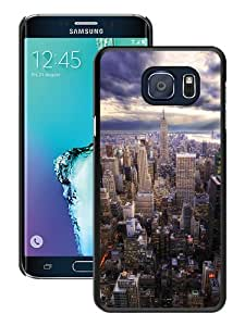 Unique Samsung Galaxy S6 Edge+ Skin Case ,Fashionable And Durable Designed Phone Case With HDR New York Skyline View Black Samsung Galaxy S6 Edge Plus Screen Cover Case