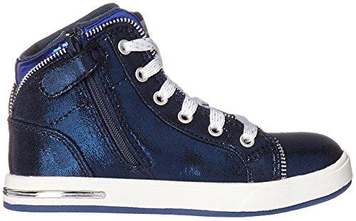 Skechers Kids Girls Shoutouts-Zipsters Sneaker (Little Kid/Big Kid) Navy
