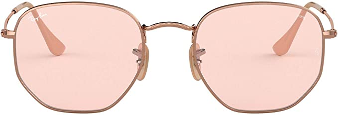 lunette ray ban homme hexagonal
