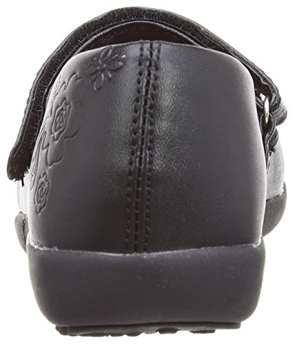 Trespass - Mary-Jane School Shoe, Scarpa Con Tacco per bambine e ragazze, nero (black), 28