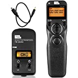 Pixel TW-283 DC2 Wireless Remote Control Wired Shutter Release Cord For Nikon Digital SLR Camera D3100 D3200 D3300 D5000 D5100 D5200 D5300 D5500 D90 D7000 D7100 D7200 D600 D610 Replaces Nikon MC-DC2