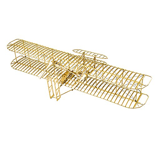 HITSAN Wright Flyer1903 Balsa Wood 510mm Wingspan Airplane Model Kit One Piece by HITSAN (Image #1)